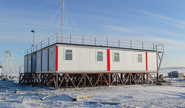 mobile science facility at Tiksi, Russia