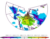 Example of Daily Maps and Composites: North American Regional Reanalysis (NARR)  output