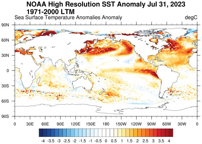 ESRL : PSD : NOAA OI SST V2: High Resolution