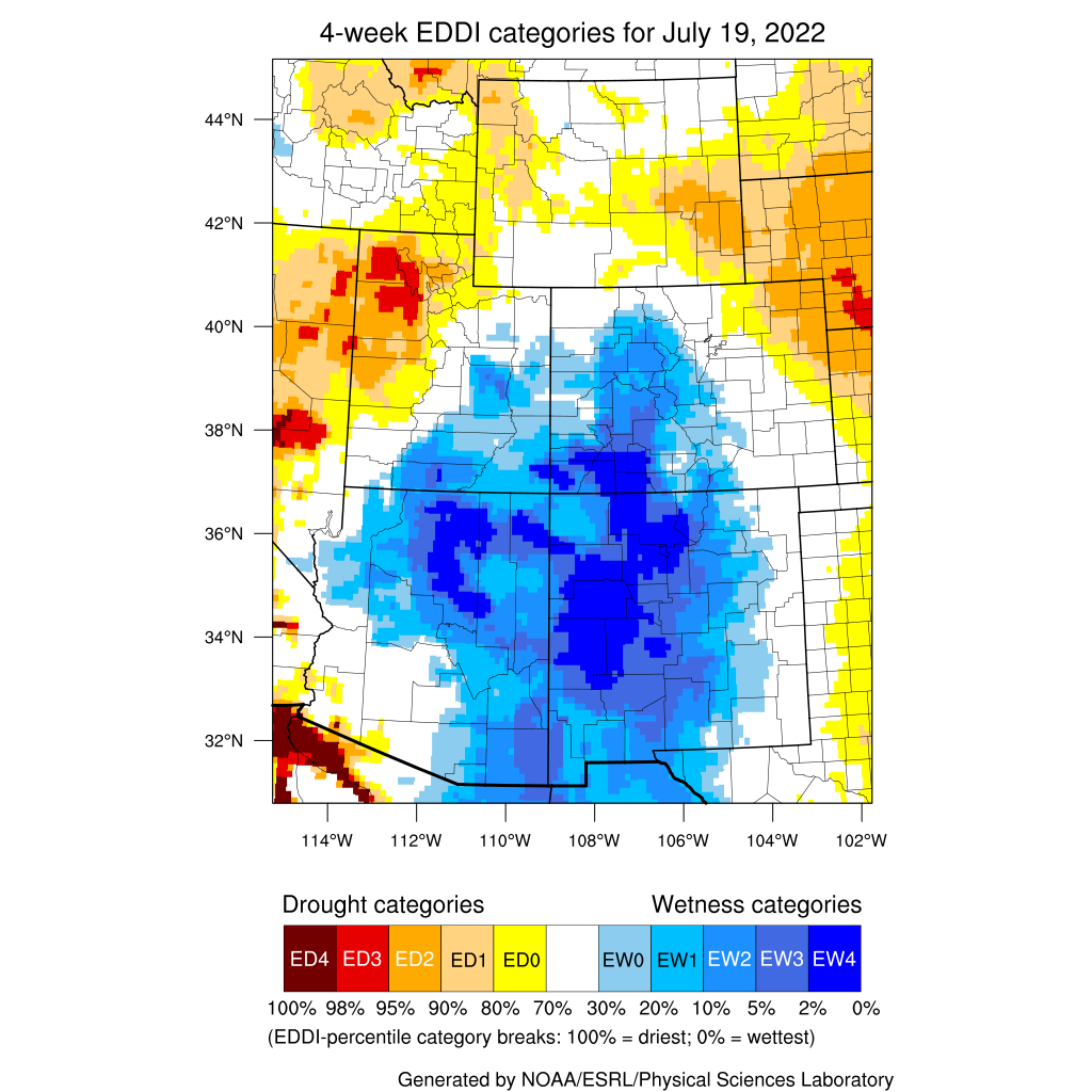 Western US Seasonal Precipitation
