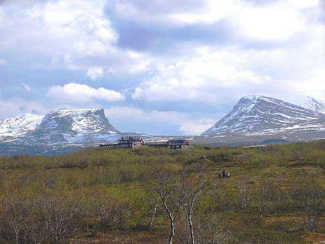 Lapporten and Abisko Scientific Research Station. Photo: P. Theuring