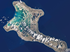 Kiritimati (Christmas) Island from the International Space Station. (Credit: NASA)